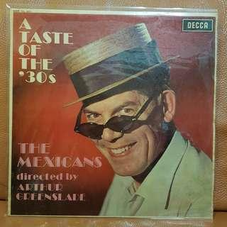 The Mexicans - A Taste Of The '30s Vinyl Recordp