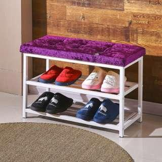 Diamond Stud Doorway shoe rack