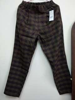 日本 E hyphen 格子褲