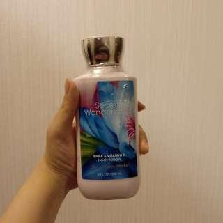 Bath and Body Works Body Lotion Secret Wonderland