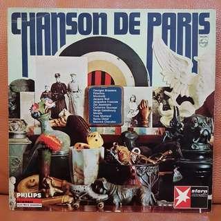 Chanson De Paris vinyl records