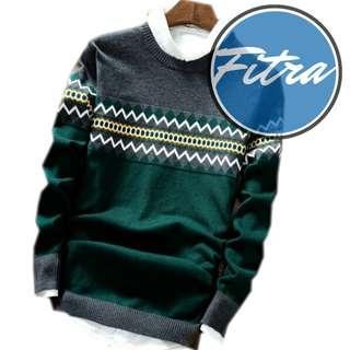 Sweater Pria Rajut Michael Green