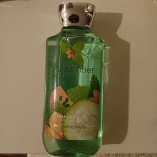 Bath and Body Works Showet Gel Cucumber Melon