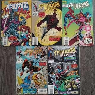 Spider-Man : The Mark of Kaine (Complete 5 part series)