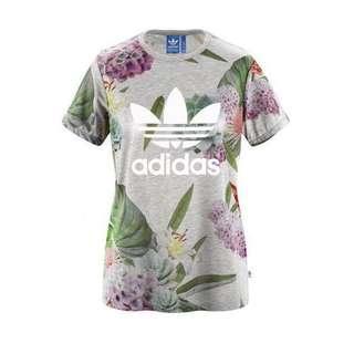 Adidas Trefoil Floral Tee