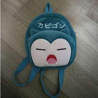 卡比獸 神奇寶貝 精靈寶可夢 Pokemon GO 生日禮物 交換禮物 聖誕節禮物 抓寶 可愛 背包 小包 後背包