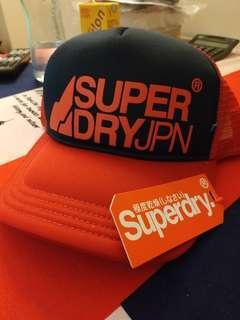 全新100% Superdry 帽