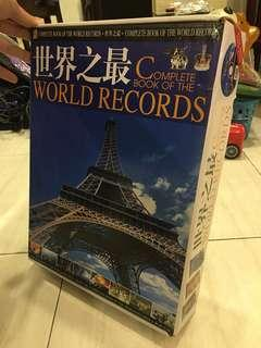 Complete Book of The World Records 世界之最 (3books in 1 collection) #cny888