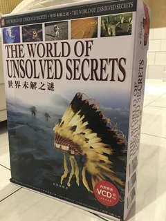 The World of Unsolved Secrets 世界未解之謎 (3 books in 1 box) #cny888