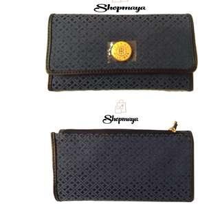Tommy Hilfiger Continental Monogram Zip Around Women's Wallet (100% Authentic)