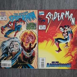 Spider-Man : Crossfire (Complete 2 part series)