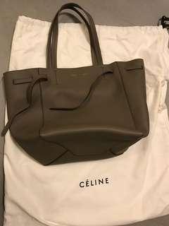 Celine Tote Bag small capas taupe