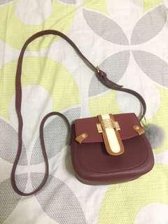 Maroon Body Bag