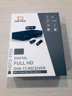 Digital Full HD DVB-T2 Receiver