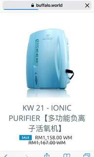 Buffalo kw21 ionic purifier
