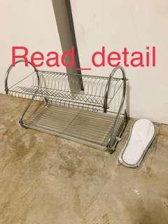🔥Read! Chrome dish rack