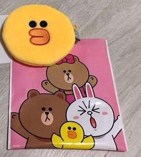Line friends sally bossini 散子包