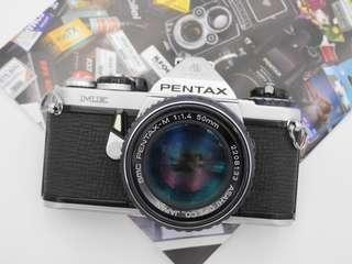 Pentax ME Film SLR + 50mm SMC F1.4 [FILM TESTED]