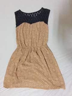 🚚 復古無袖洋裝