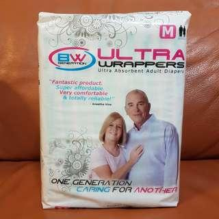 BW Generation Ultra Absorbent Adult Diapers