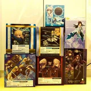 二手 Fate 優質空盒子箱子共7件