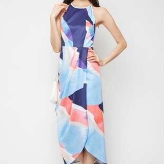 🚚 BN MDS Watercolour Dress