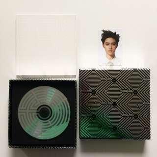 EXO Overdose Album Korean Version with Official Kyungsoo D.O. Photocard