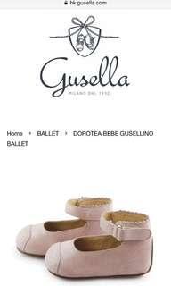 意大利Gusella女童皮鞋