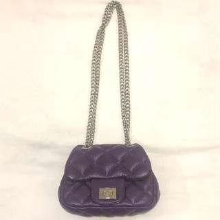 Mini Quilted Bag With Adjustable Chain