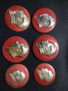 中國文革毛澤東像章系列每枚特價
