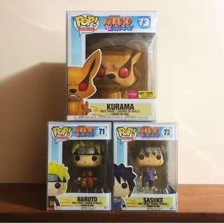 Naruto Shippuden Series 1 Pop! Funko Set