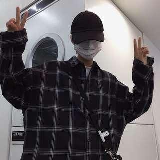 ✨korean ulzzang flannel