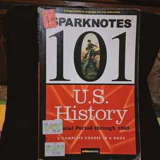 Sparknotes 101 U.S. History