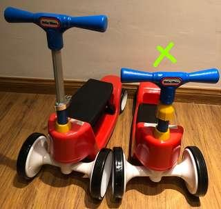 Little Tikes 2 in 1 Scooter / Ride On