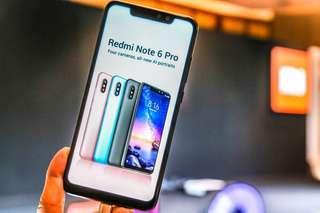 Xiaomi Redmi Note 6 Pro [3/32GB] Cicil Proses Cepat