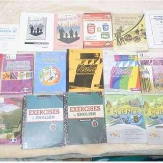 RUSH SALE: Peniel Homeschooling Grade 8 Textbooks and Teachers Manual
