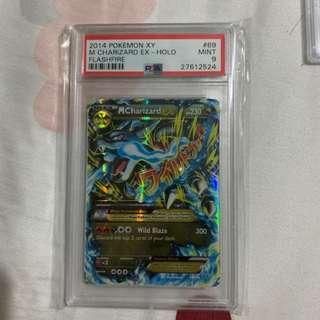 Pokemon Cards M Charizard EX PSA 9