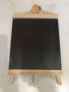 Black Board with Stand