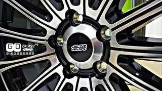 "Mugen MDA 19"" 19 inch Sport Rim For Honda Odyssey RC / Stepwgn / Vezel / CRV / Civic"