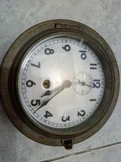Antique Junghans ship clock in good working condition 準時