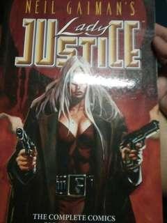 Lady Justice Comic Book