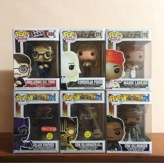 Pop! Funko (AHS, Black Panther, etc.)