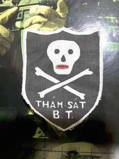 Mike force ARVN tham sat us army vietnam silk screen patch t