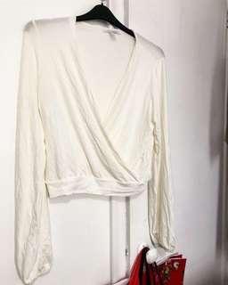 Cream Long Sleeve (Size L-XL)