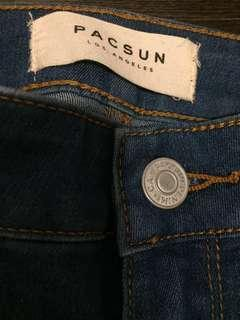 High-Waisted PacSun Skinny Jeans