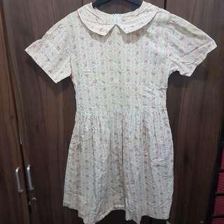 Dainty Floral Vintage Dress
