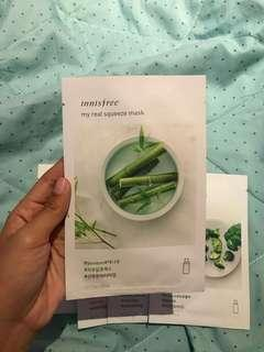 bamboo my real squeeze mask innisfree