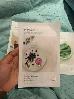 acaiberry my real squeeze mask innisfree