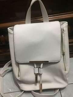 Tas Backpack - White