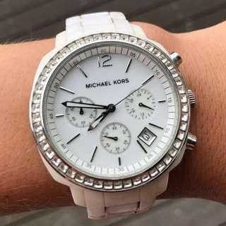 Michael Kors White Diamonds Watch